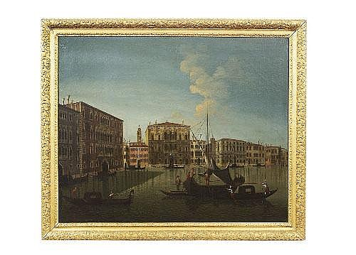 MANNER OF MARIESCHI The Grand Canal, Venice with a