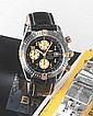 BREITLING REF. B13356. CHRONOMAT STEEL AND YELLOW
