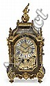 A Regency style clock. Boulle marquetry in carey and brass. Mid 19th century. 83X36x18 cm