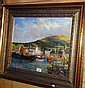Canvas print of Dingle Harbour, Island, after