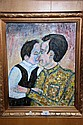 EA Furlan oil on board 'My father my hero', signed
