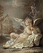 English School 19th Century  - Cupid