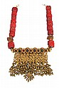 A Rajasthani necklace (aad), c.1800