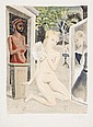 Paul Delvaux (1897-1994) Eventail (J.21), Paul Delvaux, £2,200