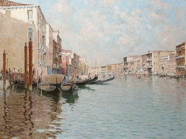 Raffaele Tafuri (Italian 1857-1929)