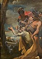 Circle of Andrea Sacchi (Nettuno 1599-1661 Rome) Saint Andrew adoring the cross of his martyrdom, Andrea Sacchi, Click for value