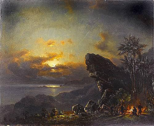 Fritz Siegfried George Melbye (Danish, 1826-1896)