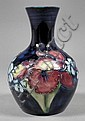A Moorcroft pottery bulbous vase, tube lined and