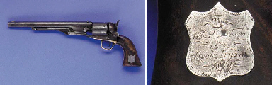A RARE FACTORY SPECIAL ORDER.44 COLT MODEL 1860 ARMY REVOLVER, NO. 93921 FOR 1863