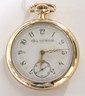 Pocket watch: Elgin, 17J, 185OF, color dial, 4885476
