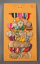 [United States] Display board of 24 medals