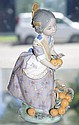 Lladro figure of Spanish girl carrying basket