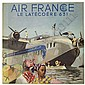 Air France. A group of twelve full-colour