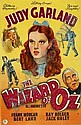 [ Posters ] The Wizard of Oz, c. 1940s, British, 30 x 20 in. See illustration inside rear cover of this catalogue. (1)