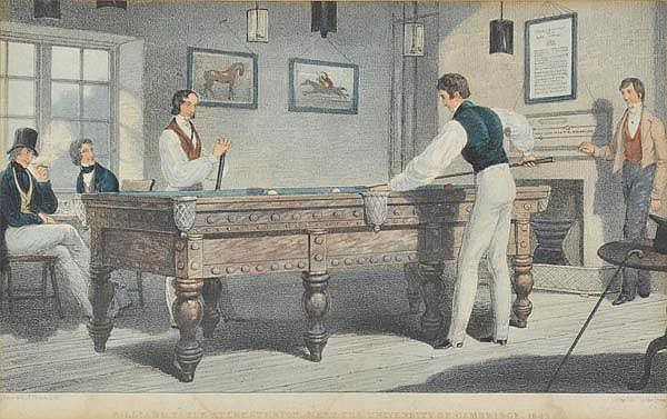 * Billiards. Picken (T.), Billiard Table at