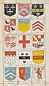 Heraldic Manuscript. Armorial of English Families,