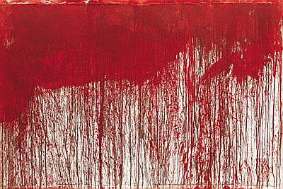 Hermann Nitsch * (born 1938 in Vienna) Dripping,