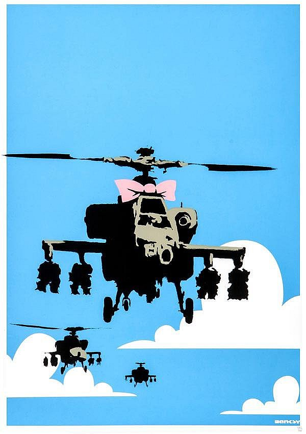 ARR Banksy (British, b.1975), Happy Choppers,