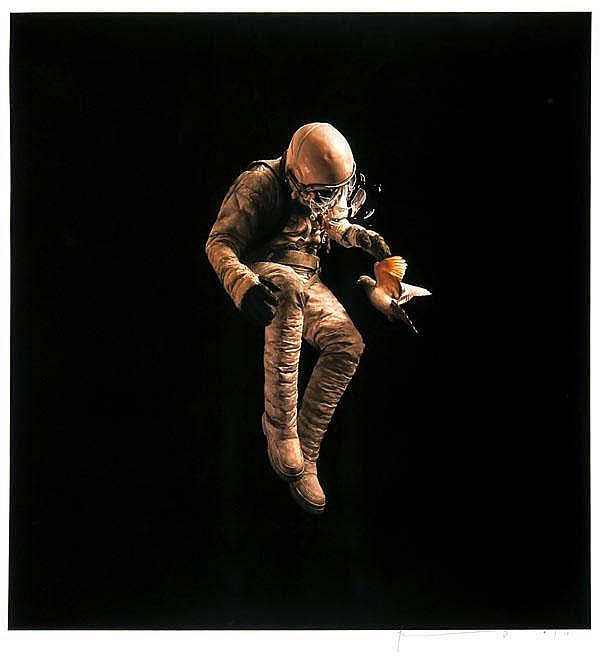 Jeremy Geddes (Australian), Adrift, giclee printed