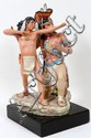 CYBIS PORCELAIN FIGURE GROUP, H 8 1/2