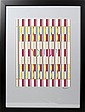 YAACOV AGAM SERIGRAPH 