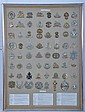 A collection of 64 british foot solders badges