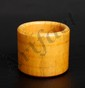 CHINESE CARVED BONE ARCHERS RING