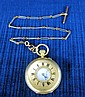 18ct. gold cased pocket watch