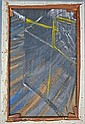 § Francis Bacon, 1909-1992, oil on canvas, part of a painting circa 1953/4, painted as a study for a Francis Bacon Pope portrait.
