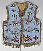Gros Ventre / Fort Belknap Beaded Vest