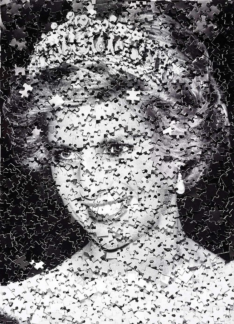 Vik MUNIZ (born in 1961)-Diana (Gordian Puzzle), 2008
