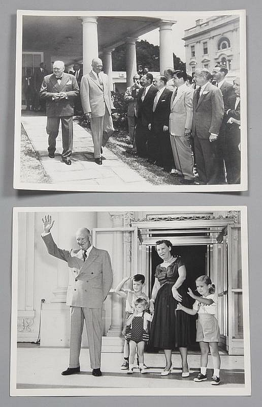 (7) Eisenhower White House photographs