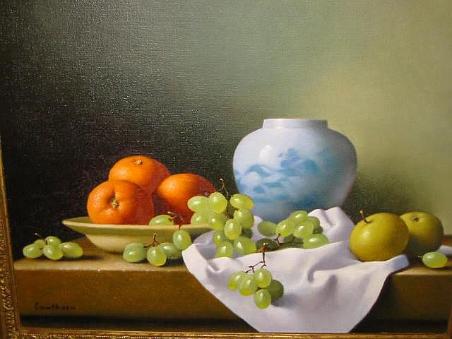 CHRISTOPHER CAWTHORN (Contemporary), Still Life