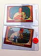 1955 BOWMAN #134 BOB FELLER AND #171 ROBIN ROBERTS