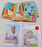 1968 TOPPS LOT OF 38 CARDS WITH #50 WILLIE MAYS AND #110 HANK AARON