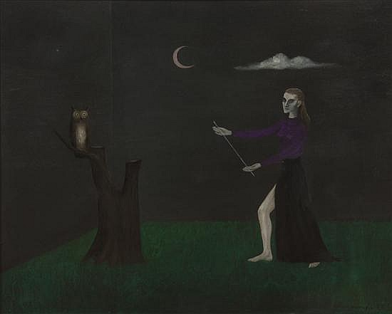 Gertrude Abercrombie, (American, 1909-1977), Stage Fright (Self-Portrait), 1952