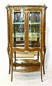 A French Kingwood and Gilt Metal Mounted Vitrine