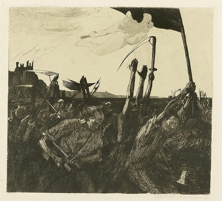 KOLLWITZ, KTHE (Knigsberg 1867 - 1945 Moritzburg