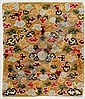 A LOT OF THREE SMALL CARPETS. Tibet, circa 1900