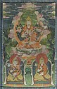 A THANGKA OF TSONGKHAPA. Mongolia, 19th century.