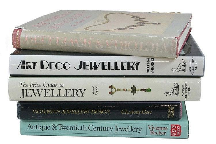 LITERATURE: JEWELLERY REFERENCE BOOKS, INCLUDING