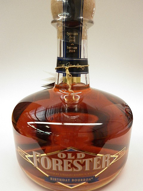 Old Forester Birthday Bourbon - Distilled 1995, Bottled 2004, 47%