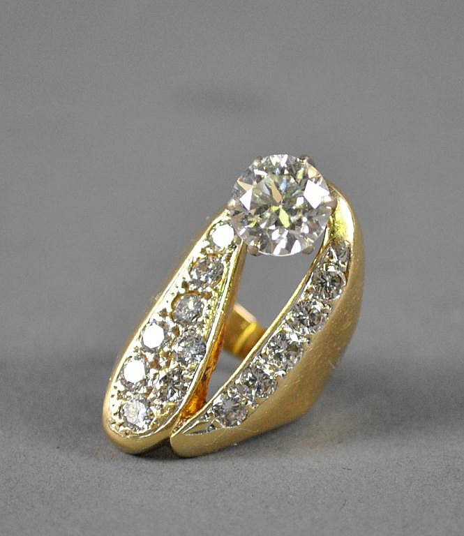 DIAMOND RING, 4.25+CTW