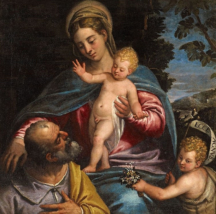VENETIAN SCHOOLlate 16th century, THE HOLY FAMILY
