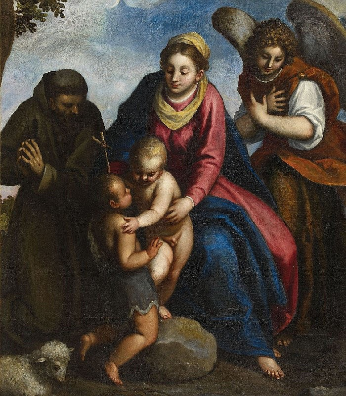 NEGRETTI, called PALMA IL GIOVANE, attributed to,