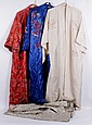 Three Chinese Silk Robes