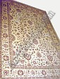 ZIEGLER CARPET, 381cm x 267cm, floral vines,