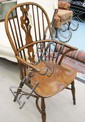 CHALON DINING CHAIRS, a set of ten, including