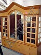 MIRRORED WARDROBE, bespoke made, of large