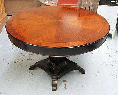 CIRCULAR DINING TABLE, in the manner of Jupe, the
